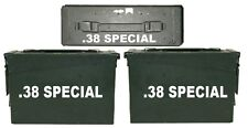 ".38 SPECIAL  ammo box( DECALS) two 6""x 1.5"" one 3""x0.75"" NO BOX INCLUDED"