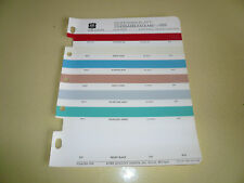 1959 Studebaker Packard ACME Color Chip Paint Sample