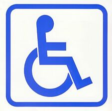 DISABLED SIGN  sticker  decal window car laptop
