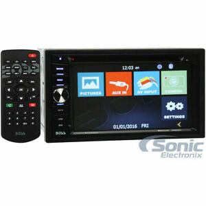 Boss Audio BV960NV Double DIN Navigation GPS In-Dash DVD/CD Car Stereo Receiver