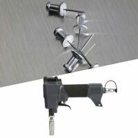Pneumatic Trim Finish Pin Gun Nailer Woodworking Tool Air Nail Gun Set 4-7kg/cm²