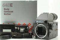【 MINT in BOX 】Mamiya 645E Medium Format Body 120/220 Roll Film Back Japan #501