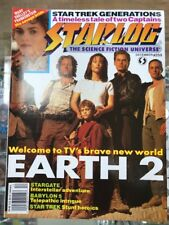Starlog Magazine Dec 1994 #209 Earth 2