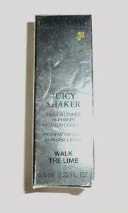 1 tube LANCOME JUICY SHAKER BI PHASE LIP OIL 166 WALK THE LIME unsealed nib