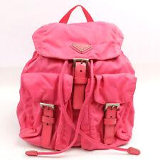 PRADA Nylon Backpack Pink