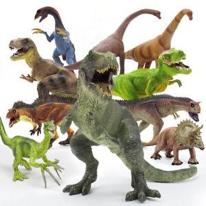 Jurassic World Realistische Dinosaurier Figuren Set Kinder Spielzeug Groß Dinos