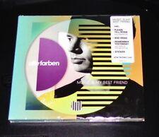 ALLE FARBEN MUSIC IS MY BEST FRIEND LIMITIERTE EDITION + STICKER CD NEU & OVP