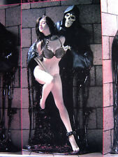 Beauty Lady & Demon Hell Seducer Sexy And Devil Unpainted Figure Model Resin Kit