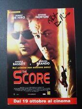 Foto con autografo di Robert De Niro (The Score)