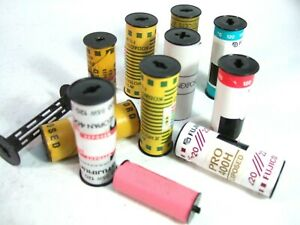10 rolls Medium Format Exposed FILM 120 620 127 Color B&W Kodak Fuji Agfa LUCKY!