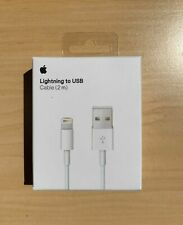 Genuine Original OEM Apple iPhone XS Max X 8 7 6S Lightning USB Cable Charger 2M