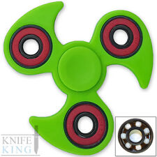 SPITFIRE Fidget Spinner Ninja CLAW Green Tri Focus ADHD Finger Toy EDC Stress