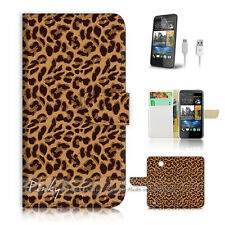 ( For HTC Desire 310 ) Case Cover! Leopard Skin Pattern P0229