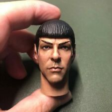 """High Quality 1/6 Scale Star Trek Spock Head Sculpt Zachary Quinto for 12"""" body"""