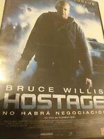 Dvd   bruce willis HOSTAGE ( no habra negociacion