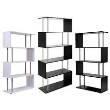 Modern 4 / 5 Level Tier Bookcase Storage Display Furniture Bookshelf Shelf Stand