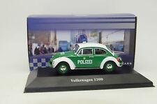 BOITE VITRINE 1//43 VW COCCINELLE IXO BEETLE 1300 ORANGE 1970