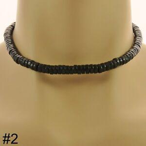 Surfer Style Bead Necklace boho beaded choker mens ladies womens boys jewellery