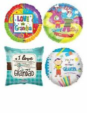 Happy Birthday Grandad Grandpa Love You Balloons Party Novelty Gift Helium
