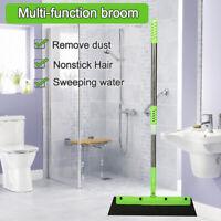 Magic Broom 180° Spin Hand Push Household Floor Hair Sweeper Broom Bath Kitchen