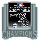 2021 CHICAGO WHITE SOX AMERICAN LEAGUE PIN CENTRAL DIVISION CHAMPS WORLD SERIES