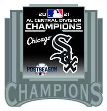 2021 Chicago Blanc Sox Américain League Broche Central Division Champs Du Série
