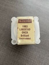 ONE ROLL (20 COINS) • 1983 Silver Mexican Libertad 1 Onza • .999 Fine Silver