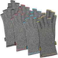 Brownmed IMAK Arthritis Pain Relief Compression Half Finger Gloves