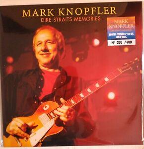 Mark Knopfler Dire Straits Memories LP 180gr. vinilo dorado edición numerada