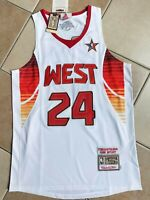 NWT Mens LA Lakers Kobe Bryant 2009 All-Star Authentic Mitchell & Ness Throwback