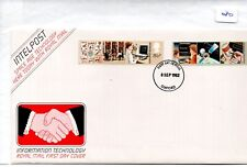 GB - FDC - TOWN CANCEL -080- UNADDRESSED -1982- Info Technology - Pmk Oxford