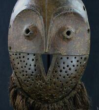 Art Africain Arts Premiers Arte African Bird Mask - Masque Bembe Oiseau - 37 Cms