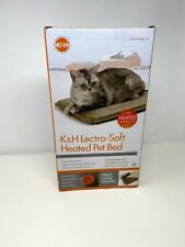 "K&H Pet Products Lectro-Soft Outdoor Heated Pet Bed 14""x18"" FREE US SHIPPING"