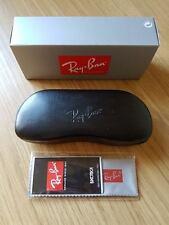 Ray Ban Black Hard Sunglasses Case Cloth & Box Included