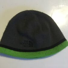 North Face Kids Gray Green Hat