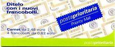 ITALIA 2002 Libretto Posta Prioritaria