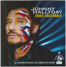 JOHNNY HALLYDAY Tous ensemble CD SINGLE FRANCE 2002 avec Livret Promo 4 Pages