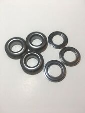 "#2 (3/8"")  Black ( free )  Self Piercing Grommet & Washers 100 Pair"