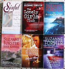 6 SUZANNE FORESTER ROMANCE BOOKS NO DOUBLES FREE SHIPPING