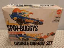 Vintage Mattel 1971 Spin-Buggys double Dig-Out Set MIB NOS Never Used