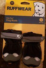 Ruffwear Grip Trex Black Dog Paw Hiking Boots Set of 2 Boots 51mm Small M S New
