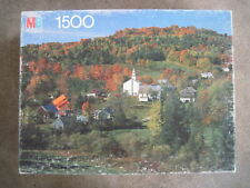MB Milton Bradley York 1500 piece puzzle EAST TOPSHAM, VERMONT  Sealed