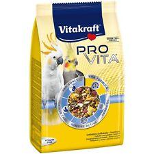 Vitakraft Pro Vita, Großsittisch und Kakadu Futter - 750g - Vogelfutter Sittich