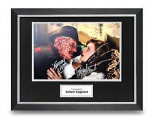 Robert Englund Signed 16x12 Framed Photo Display Freddy Krueger Autograph + COA