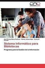 Sistema Informático para Bibliotecas: Programa para la Gestión de la Información