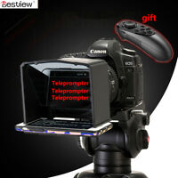 Bestview T1 Teleprompter Portable Phone for Interview Speech Video TV+Remote 1x