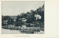 COPAKE LAKE NY - Cottages at Copake Lake - udb (pre 1908)