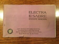 1979 Original Buick Electra LeSabre Estate Wagon Operator's Manual