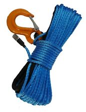 ATV & UTV Synthetic Winch Rope - 3500lb rating (Blue)