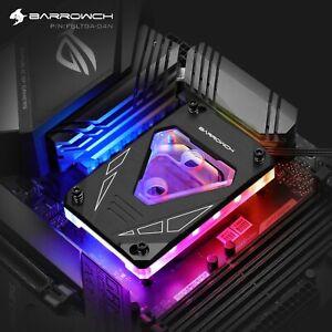 Barrowch M Series CPU Water Block AMD Ryzen AM4/AM3 - A60